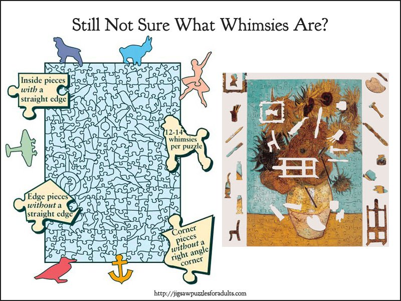 Wentworth wooden puzzles Whimsies