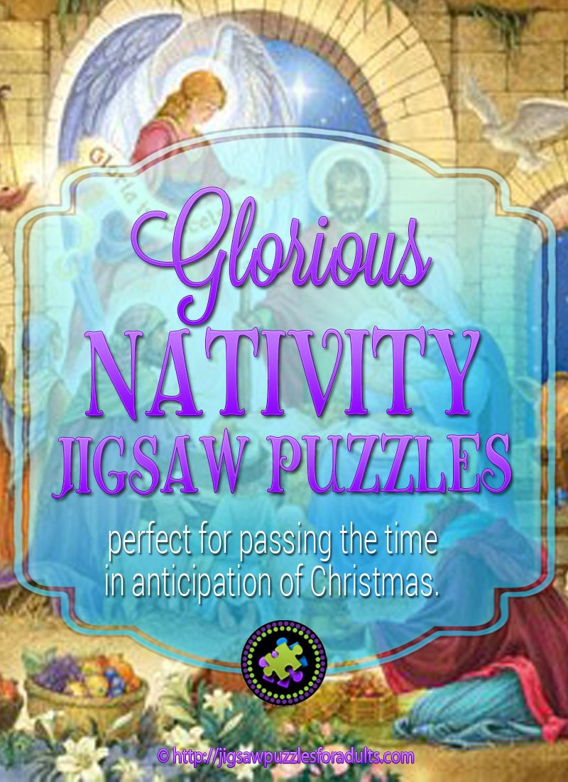 Glorious Nativity Jigsaw Puzzle 1000 piece