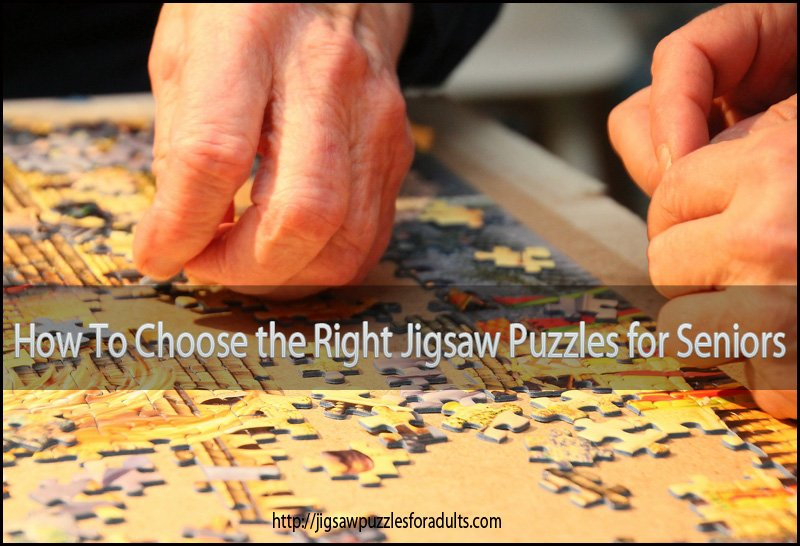 How to choose the right jigsaw puzzles for seniors