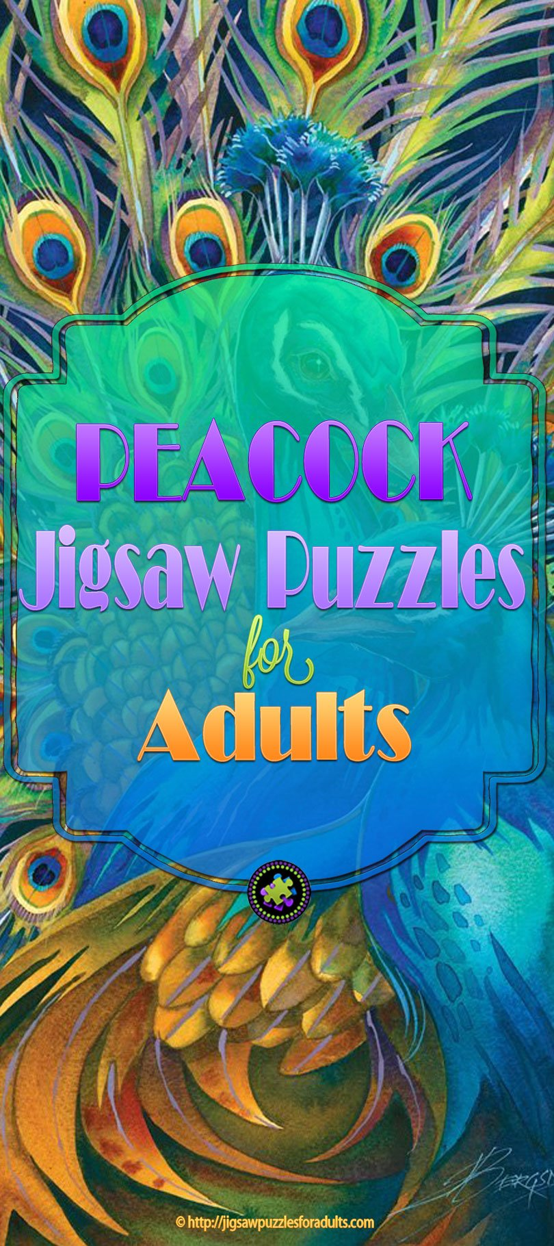 Peacock Jigsaw Puzzles