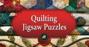 Quilting Jigsaw Puzzle   Great Gift for Anyone Who Loves Quilting