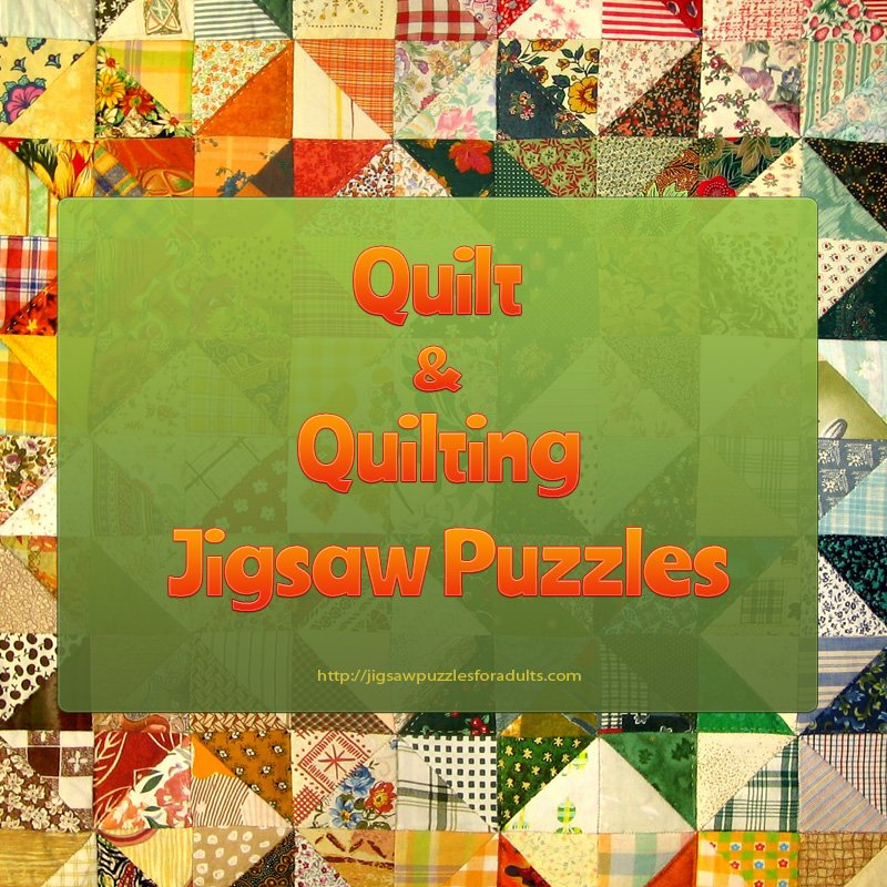 quilting jigsaw puzzle