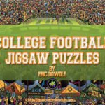 College Football Jigsaw Puzzles by Eric Dowdle
