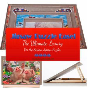 Jigsaw Puzzle Easel
