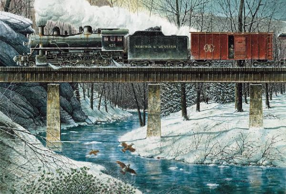 Steam train jigsaw puzzles jigsaw puzzles for adults for Topdeq hunenberg
