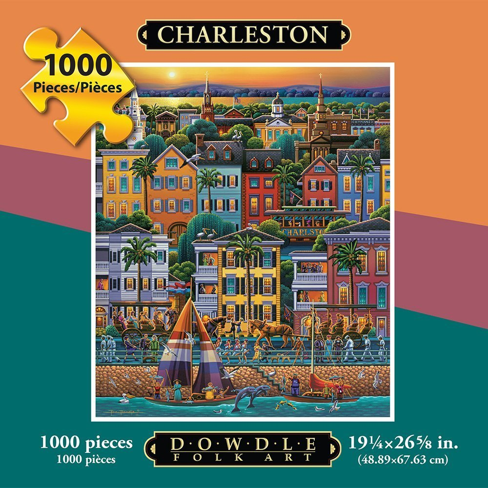 Dowdle Folk Art Puzzles - Charleston City Collection