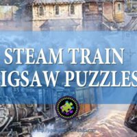 Steam Train Jigsaw Puzzles