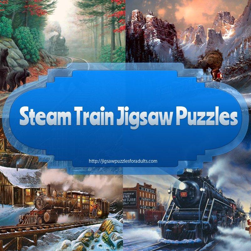 Steam Train Jigsaw Puzzles
