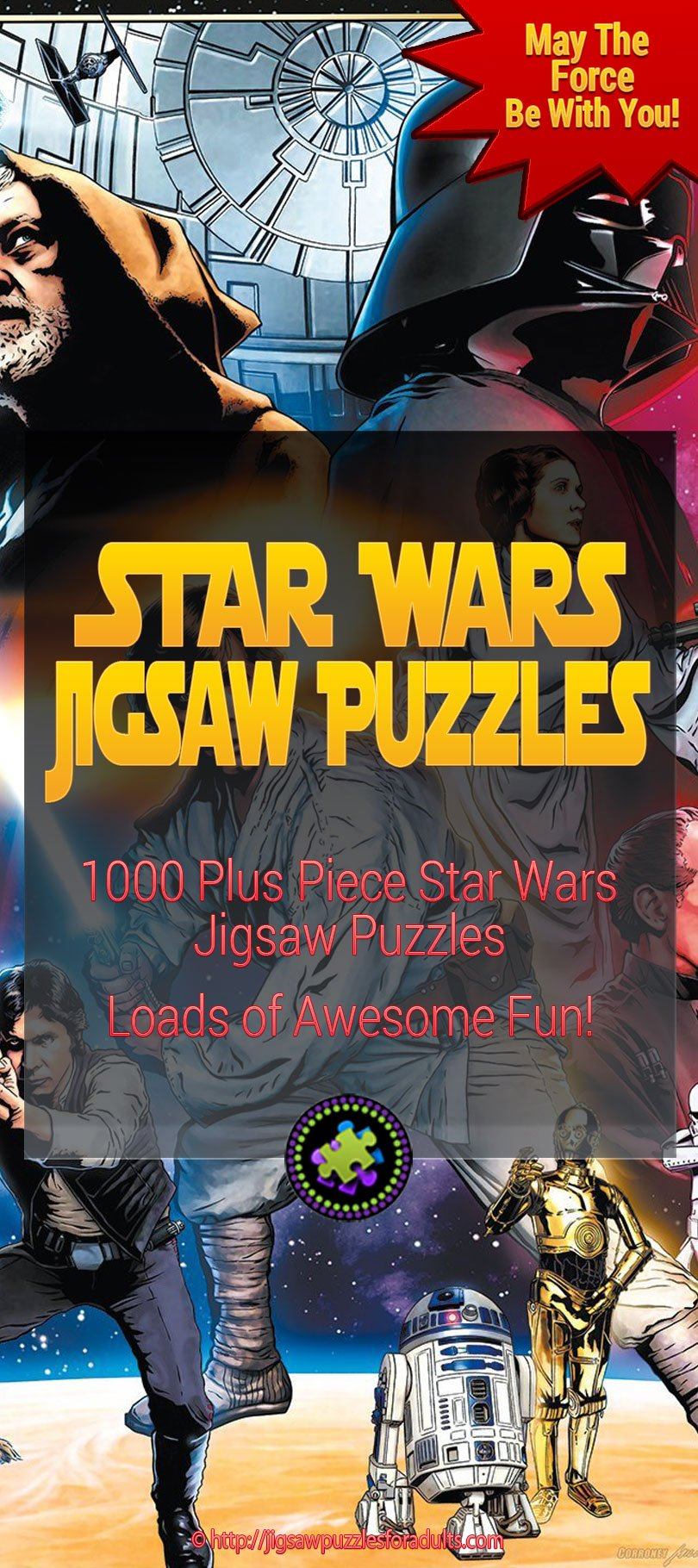 Star Wars Puzzles 1000 Pieces