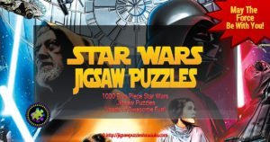 Star Wars Puzzles 1000 Pieces of Awesome Jigsaw Puzzle Fun!