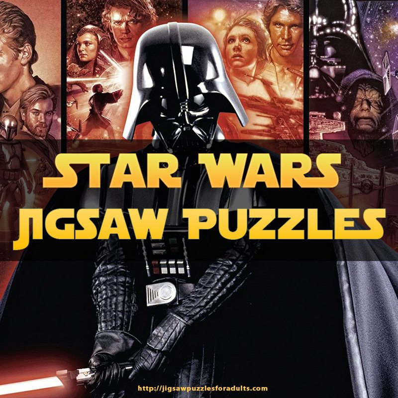 Star Wars Puzzles 1000 Pieces