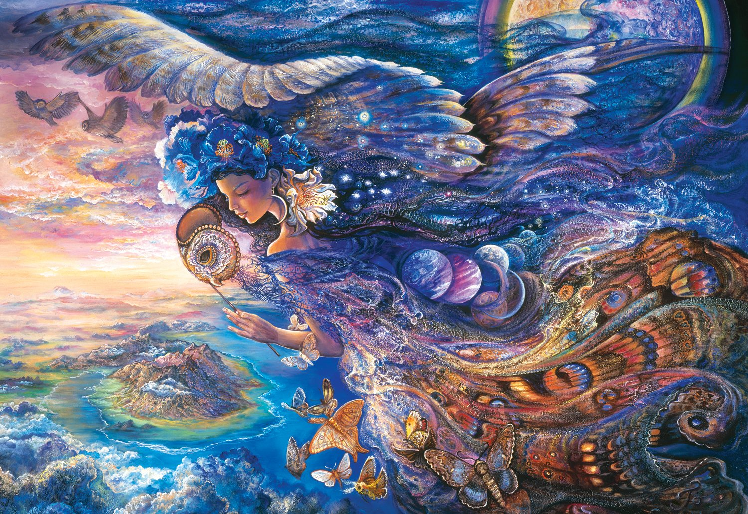 Josephine wall jigsaw puzzles jigsaw puzzles for adults for Wall artwork paintings