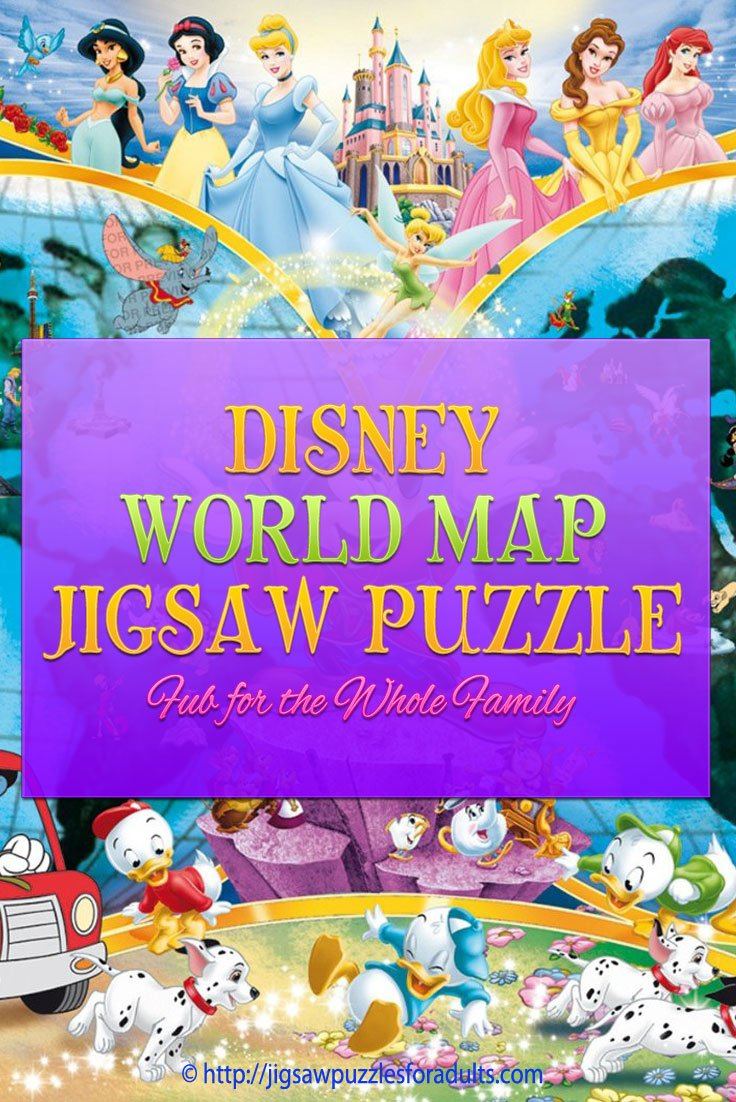 Disney World Map Puzzle