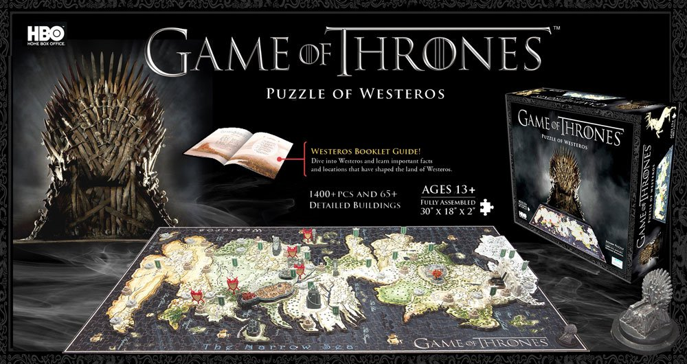 4D Game Of Thrones Jigsaw Puzzles