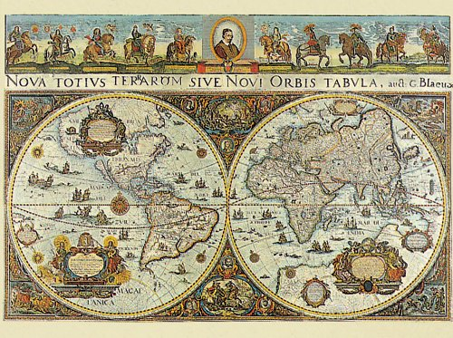 Old world map jigsaw puzzle jigsaw puzzles for adults ravensburger old world map jigsaw puzzle 3000 pieces gumiabroncs Image collections