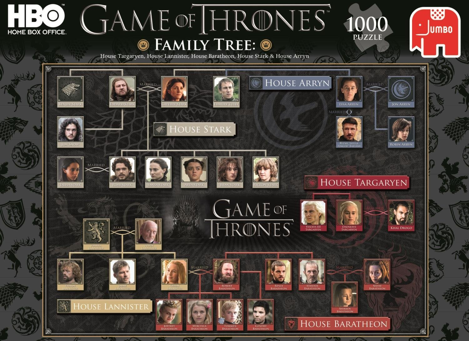 Game Of Thrones Jigsaw Puzzles Jigsaw Puzzles For Adults
