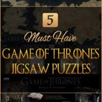 5 Must Have Game of Thrones Jigsaw Puzzles