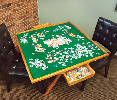 Top 5 Jigsaw Puzzle Tables Ideal Solutions For Avid