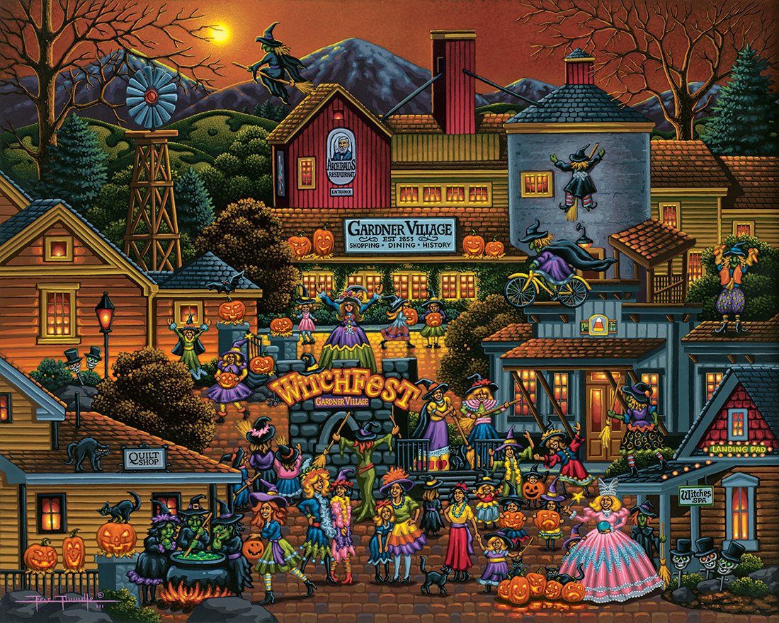 Below Youll Find An Awesome Selection Of Different Halloween Jigsaw Puzzles