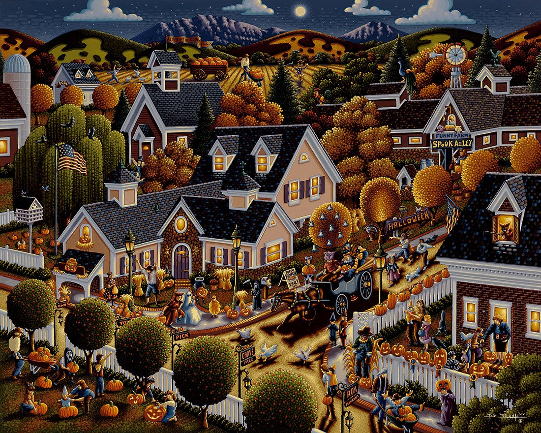 Halloween Puzzles For Adults