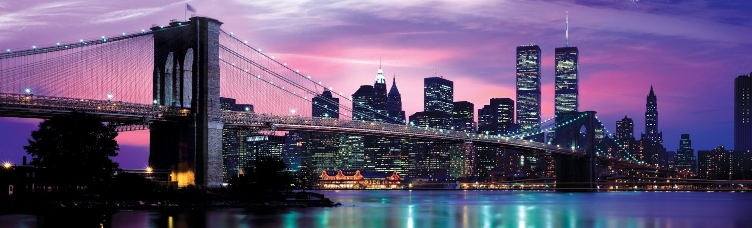New york brooklyn bridge 1000 piece jigsaw puzzle for Activities for adults in nyc