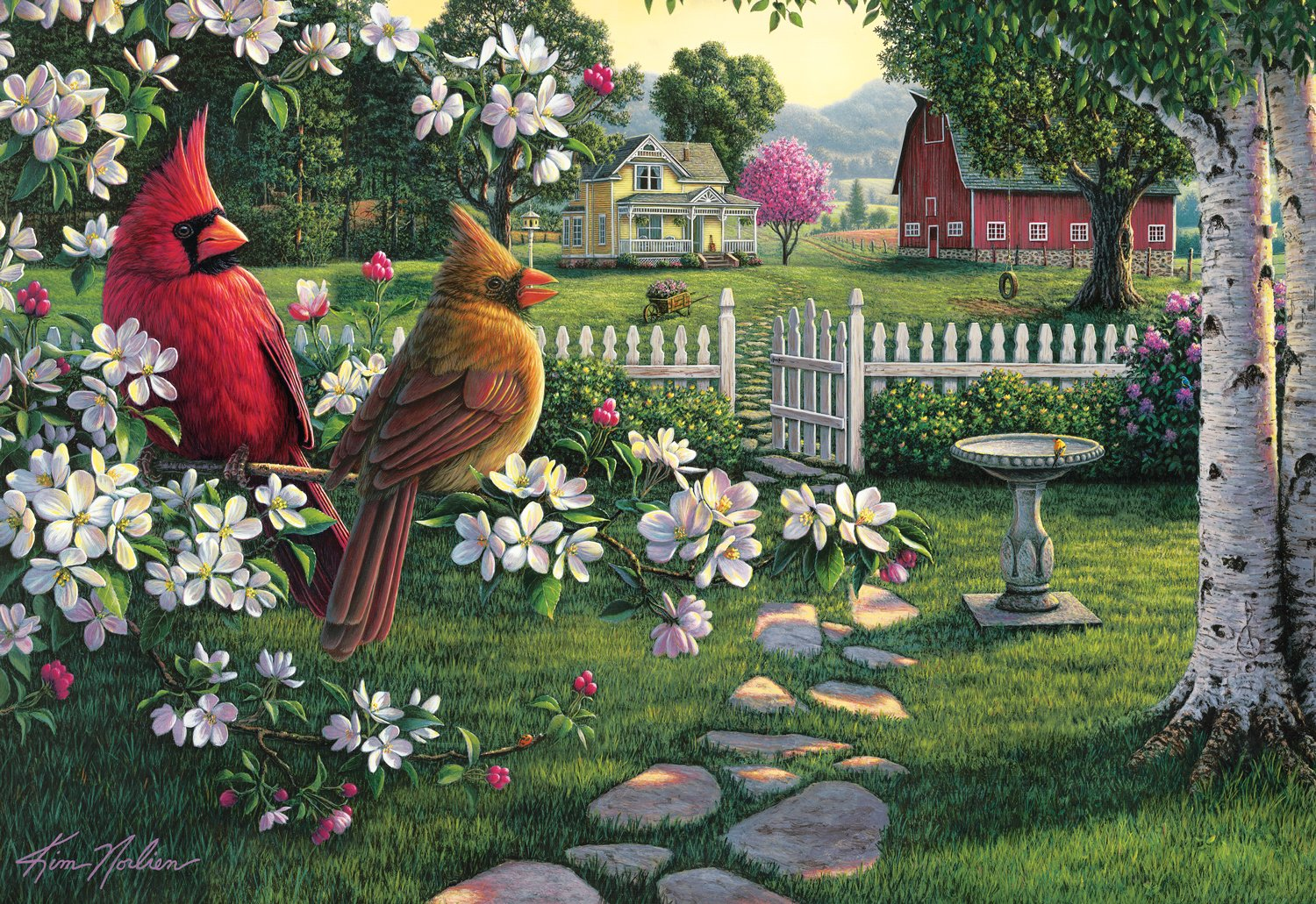 Kim Norlien Jigsaw Puzzles The Painter Of Peace And