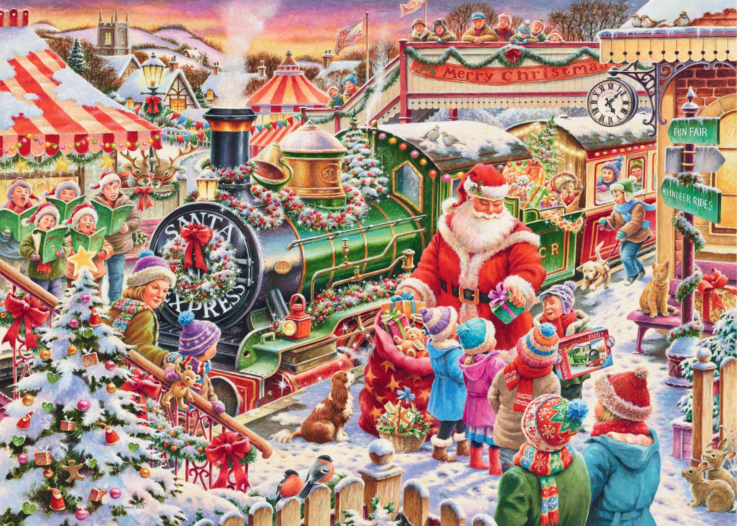ravensburger christmas puzzle 2013 - Ravensburger Christmas Puzzles