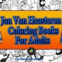 Jan Van Haasteren Coloring Book