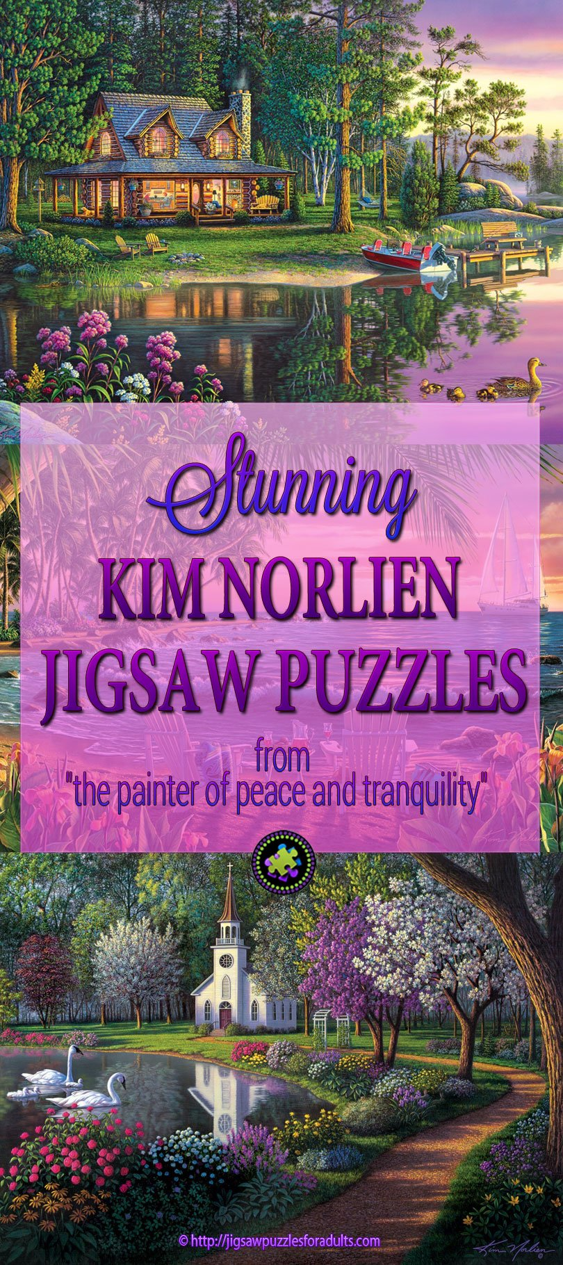 Kim Norlien jigsaw puzzles