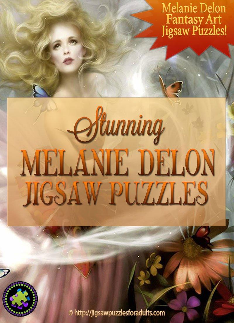 Melanie Delon Jigsaw Puzzles