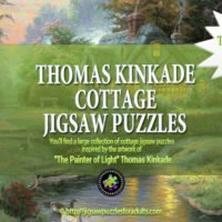 Thomas Kinkade Cottage Puzzles
