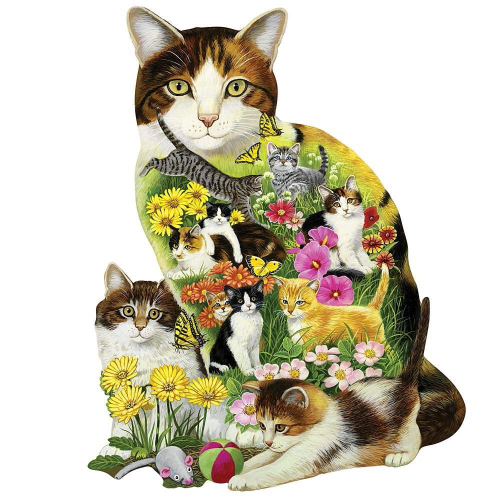 Cat Shaped Jigsaw Puzzles Adorable Shaped Cat Jigsaw Puzzles