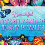 Butterfly Shaped Jigsaw Puzzle