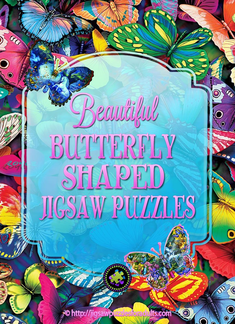 Butterfly Shaped Puzzles