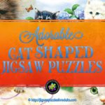 Cat Shaped Jigsaw Puzzles