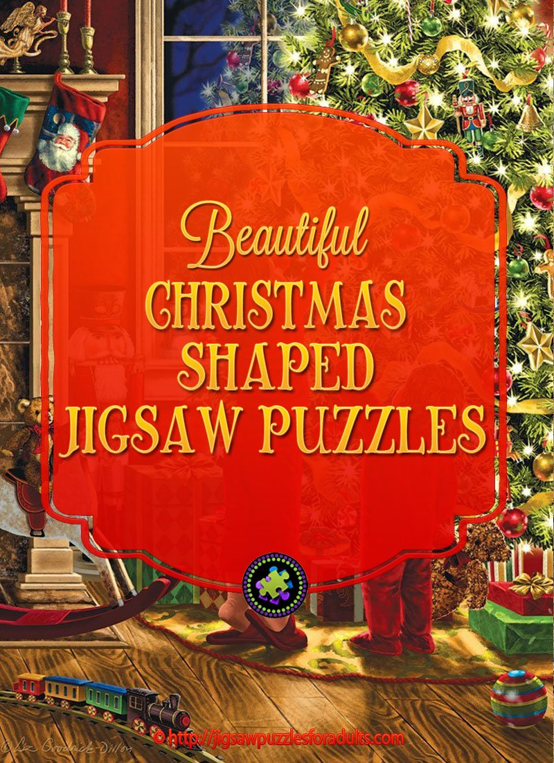 Christmas Shaped Puzzles