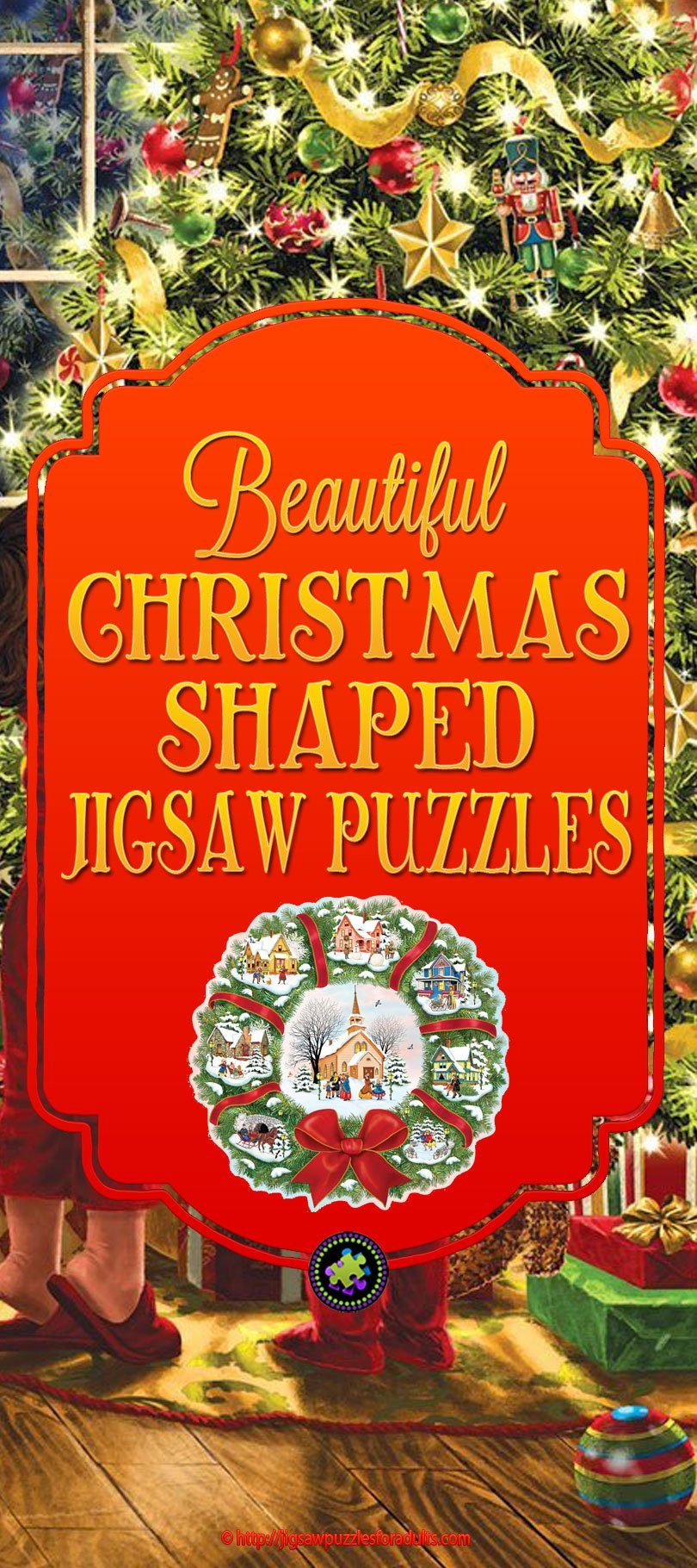 Christmas Shapped Jigsaw Puzzles