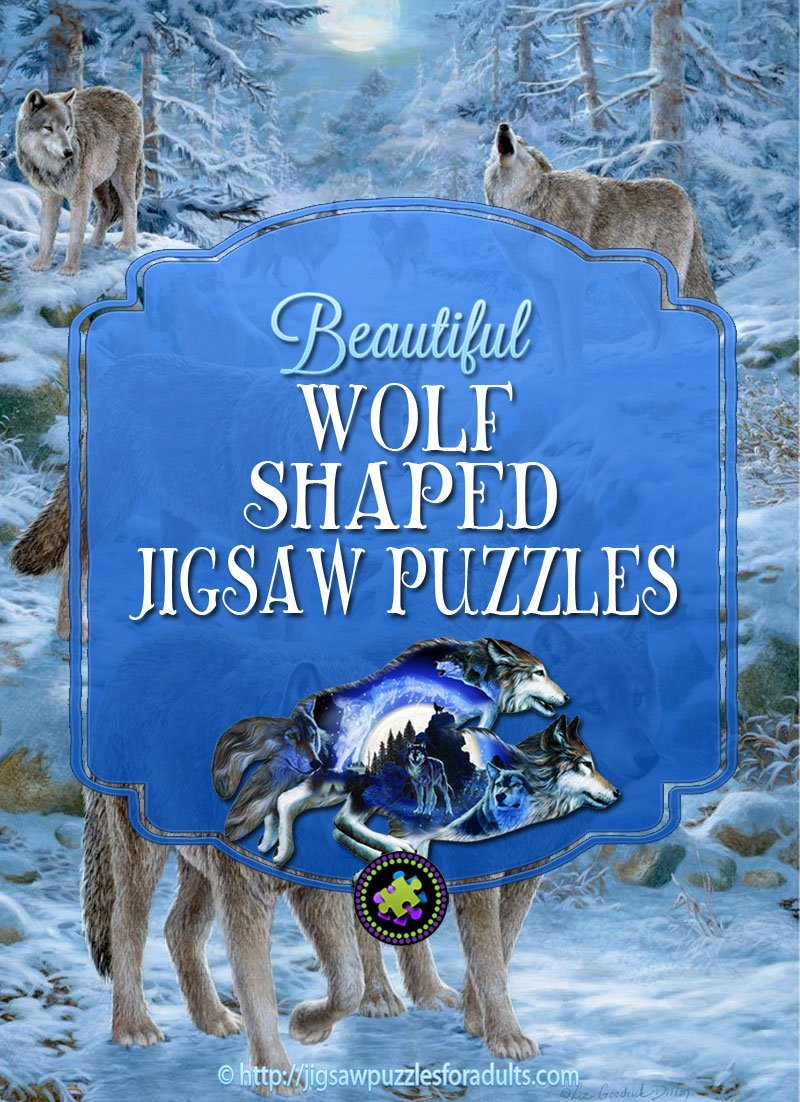 Wolf Shaped Puzzles