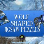 Wolf Shaped Jigsaw Puzzles