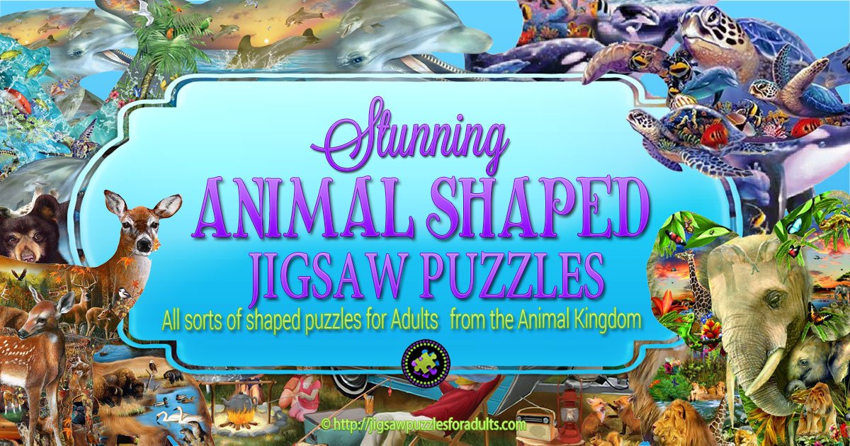 Animal Shaped Jigsaw Puzzles Jigsaw Puzzles For Adults