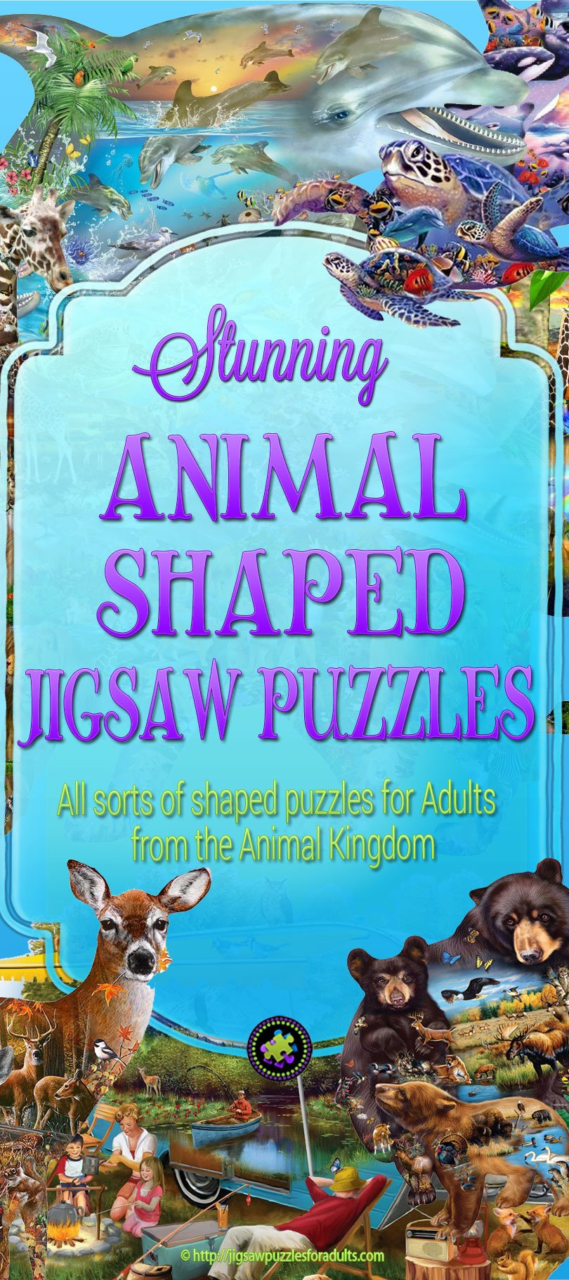 Animal Shaped Jigsaw Puzzles