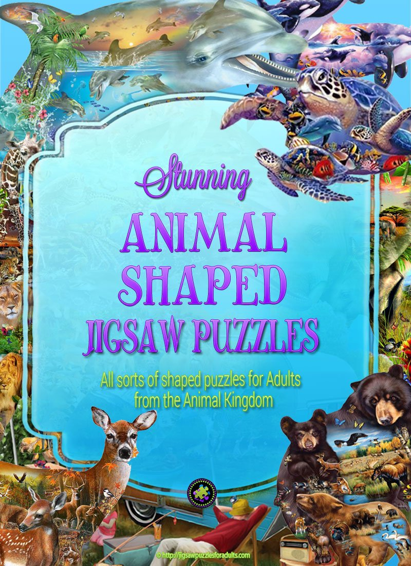 Animal Shaped Puzzles