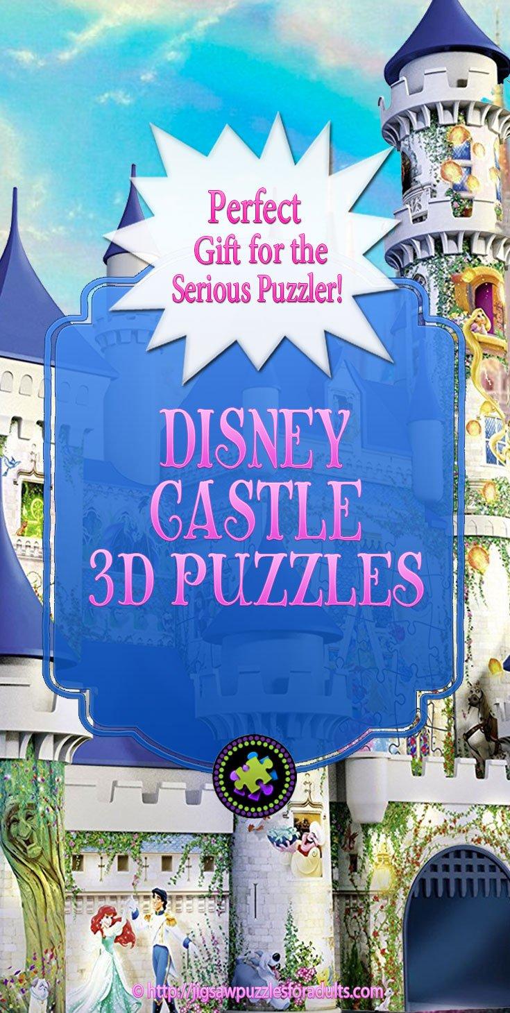 Disney Castles 3D Puzzle