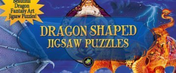 Dragon Shaped Jigsaw Puzzles