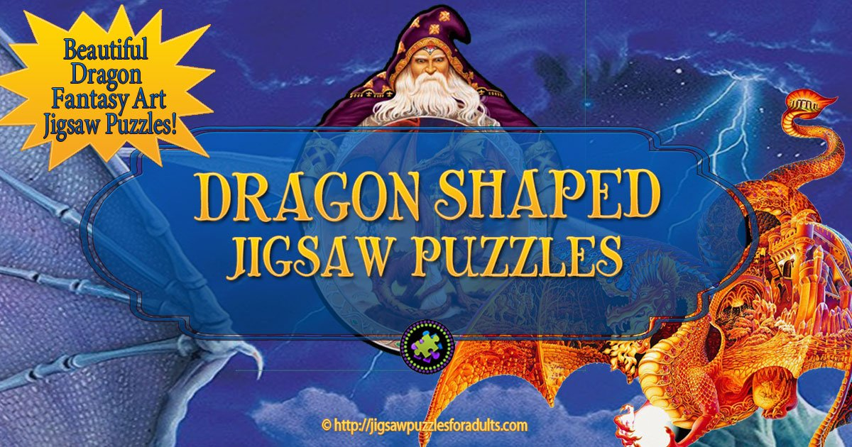 Dragon Shaped Jigsaw Puzzles | Perfect for Fantasy Art Fans