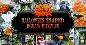 Halloween Shaped Jigsaw Puzzles