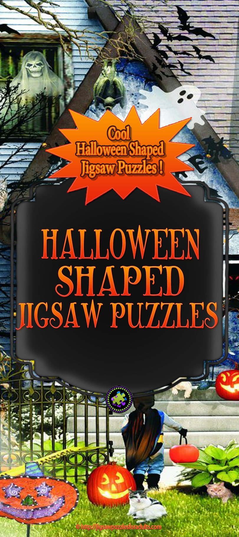 Halloween Shaped Jigsaw Puzzles