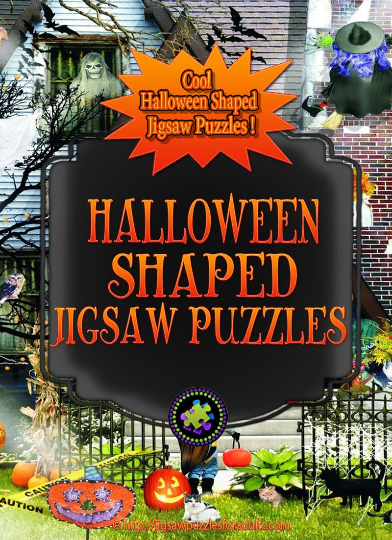 Halloween Shaped Puzzles