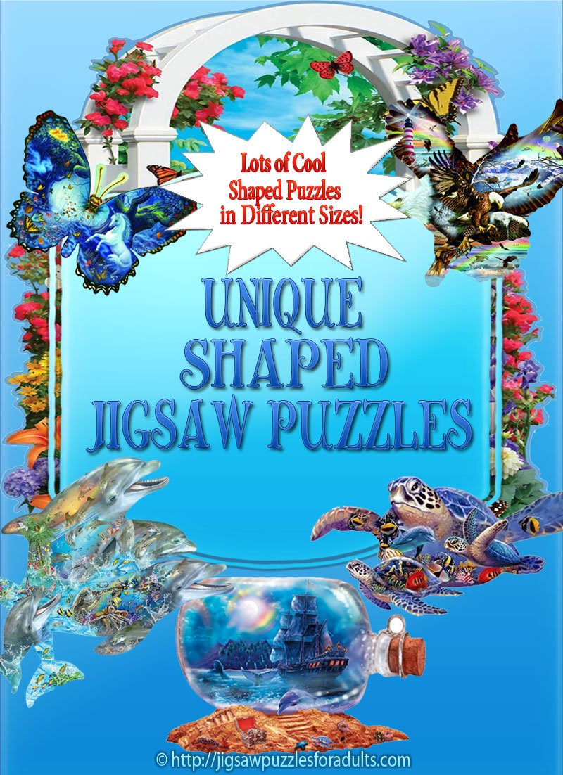 Unique Shaped Jigsaw Puzzles