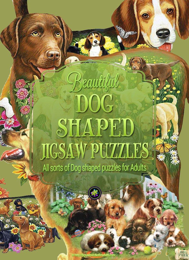 Dog Shaped Puzzles